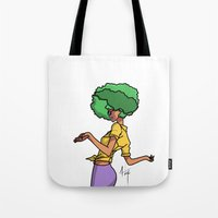 sassy Tote Bags featuring Sassy by Hannah  Aryee