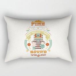 Unbelievers Rectangular Pillow