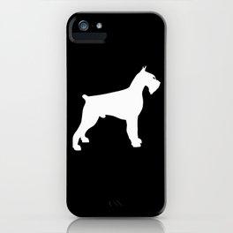 Giant Schnauzer iPhone Case