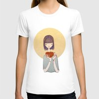 coffee T-shirts featuring coffee by Renia
