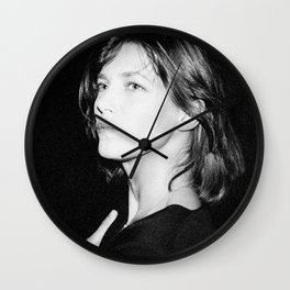 Jane Birkin, 1985 Wall Clock