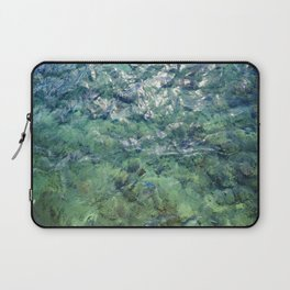 The Water of Bora Bora Laptop Sleeve