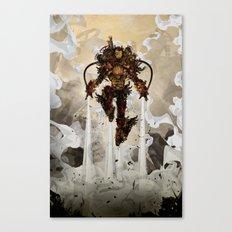 Steamy Iron Canvas Print
