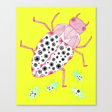 Roaches on a Sunny Day Canvas Print