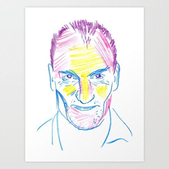 WOODY Art Print