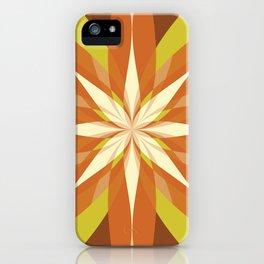 Flowering Quilt iPhone Case