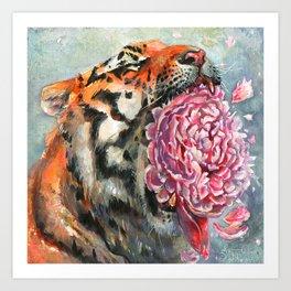 Roar Art Print