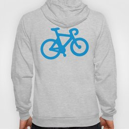 Blue Bike Hoody