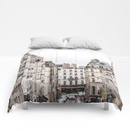 Montmartre View of Paris  Comforters