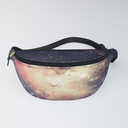 Deep Pastels Galaxy Space Sparkle Fanny Pack