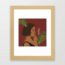 Jungle Vibes III Framed Art Print
