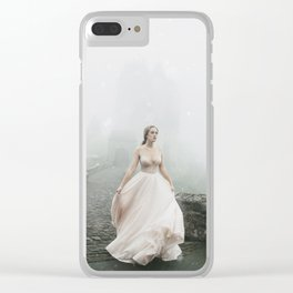 Castle girl Clear iPhone Case