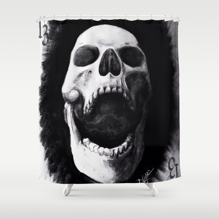 chared Shower Curtain