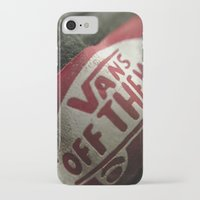vans iPhone & iPod Cases featuring Vans by Aasyraf