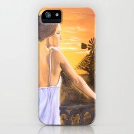 Karoo Skemer by M.Viljoen iPhone Case