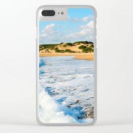 Landscape of Beach Clear iPhone Case