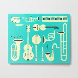 JUST JAZZ Metal Print