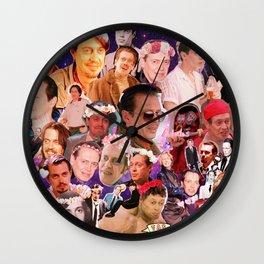 Buscemi Collage Wall Clock