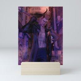 [Bloodmoon] - Kaiden - Dark Fantasy - 3D Render Mini Art Print