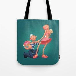 Sailors Romance Tote Bag