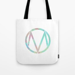The Maine | Watercolor 'M' Tote Bag