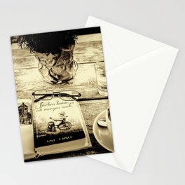 ...  coming to terms  ... Stationery Cards