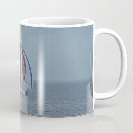 part 3 of 4 of Sailing Battle 42-56  - Transat Quebec St-Malo Coffee Mug