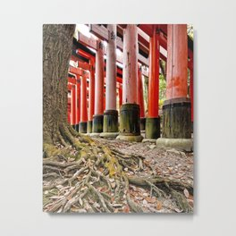Fushimi Inari Shrine, Kyoto, Japan Metal Print