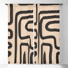 abstrait I Blackout Curtain