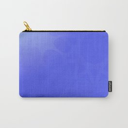 Neutral background of blue tones. Carry-All Pouch