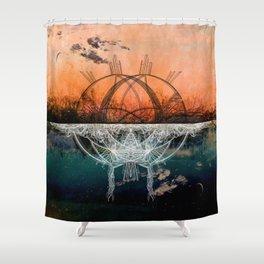 TwoWorldsofDesign: II Shower Curtain