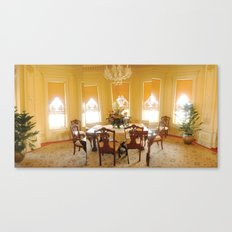Bass Mansion Canvas Print