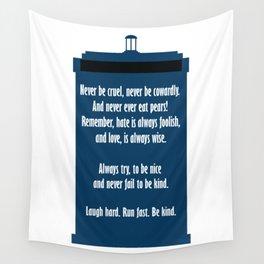 Twelve's Last Words Wall Tapestry