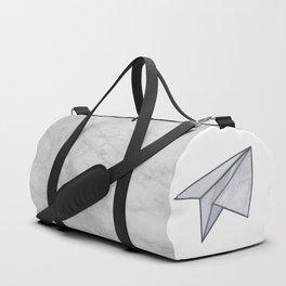 Marbelous plane Duffle Bag
