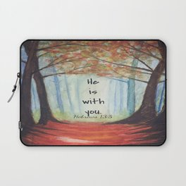 He is with you Laptop Sleeve