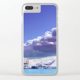 Cargo in Seattle Clear iPhone Case