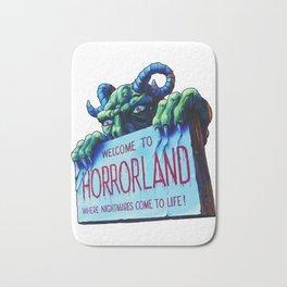 Welcome to Horrorland Bath Mat