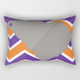 Clemson Tigers Rectangular Pillow