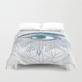 Mandala Vision Flower of Life Duvet Cover