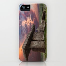 Poulnabrone Dolmen Sunset iPhone Case