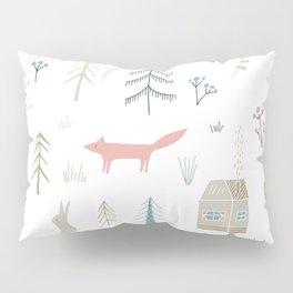 Into the Wild Pastel Pillow Sham
