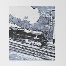 Scarborough Spa Express Graphic Novel Throw Blanket