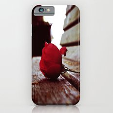 Park bench rose iPhone 6s Slim Case