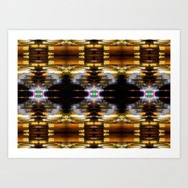 Three stars Art Print