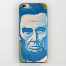 Blue Lincoln iPhone & iPod Skin