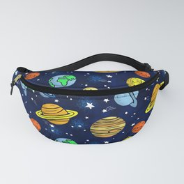 Space and Planets Fanny Pack