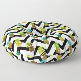Pineapples Pattern Cute 124 Floor Pillow