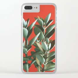 Copper Spoons - Kalanchoe orgyalis Clear iPhone Case