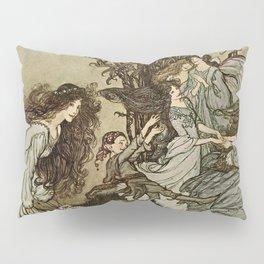 """Dancing With the Fairies"" by Arthur Rackham Pillow Sham"