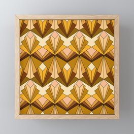 Art Deco meets the 70s Framed Mini Art Print